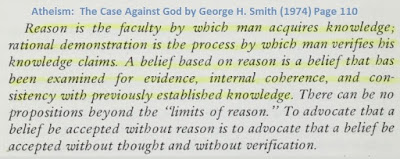 Reason is the faculty by which man acquires knowledge...