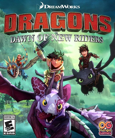 โหลดเกมส์ DreamWorks Dragons: Dawn of New Riders