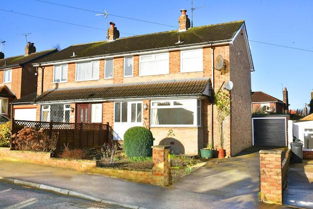 Harrogate Property News - 3 bed semi-detached house for sale Woodlands Rise, Harrogate HG2