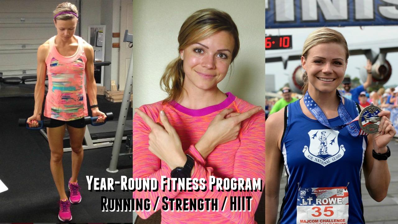 training plan, workout routine, workout program, strength training program, marathon training program, running and strength program, fitness plan for marathoners