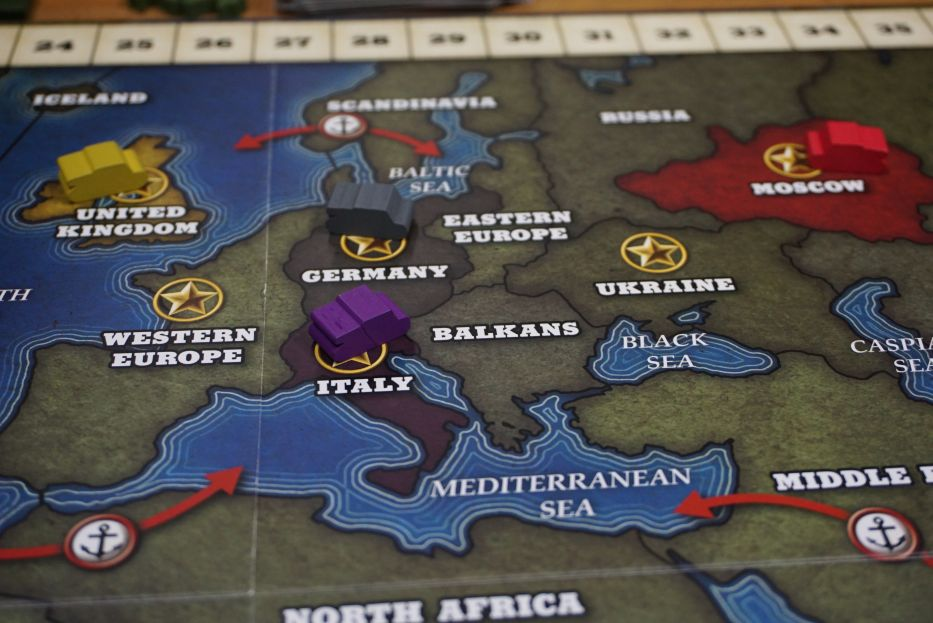 Hiew's Boardgame Blog: Quartermaster General