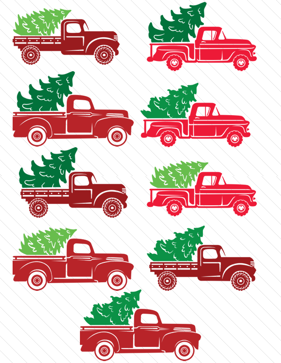 Christmas Tree Truck Svg Free.Fields Of Heather Free Svgs For Christmas Ornaments