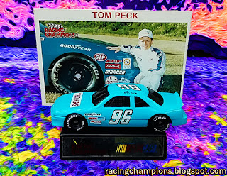 Tom Peck #96 Thomas Racing Champions 1/64 NASCAR diecast blog BGN age