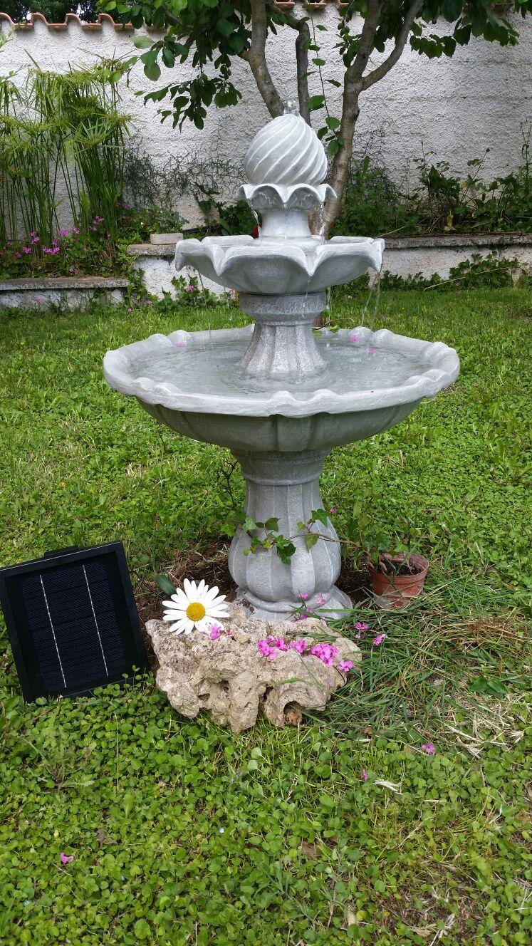 New fashion style electronic star fontana da giardino for Vasche da giardino in plastica