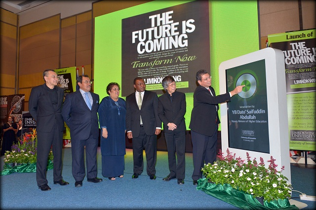 "Launching the new book ""The Future Is Coming, Transform Now"""