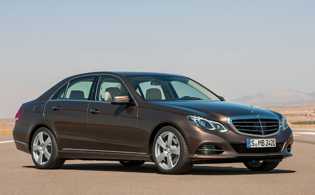 2014 Mercedes-Benz E-Class sedan brown