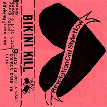 Bikini kill blood one lyrics