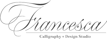 Francesca Calligraphy + Design