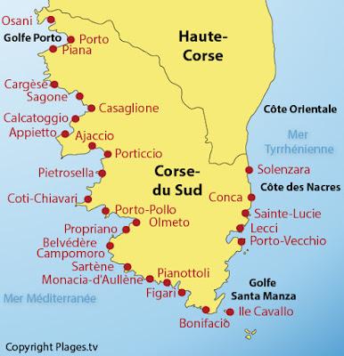 VISITE DE LA CORSE - JUILLET 2018