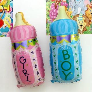 Balon Foil Botol Bayi