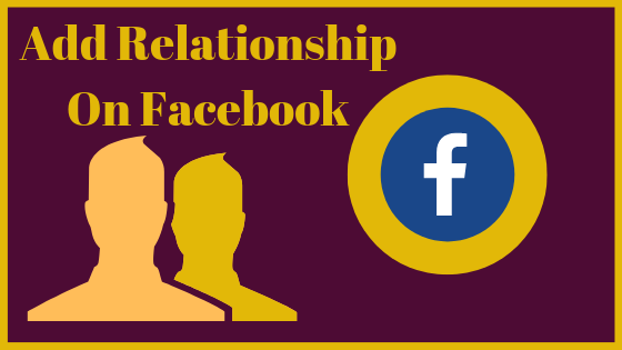 How To Put In A Relationship On Facebook<br/>
