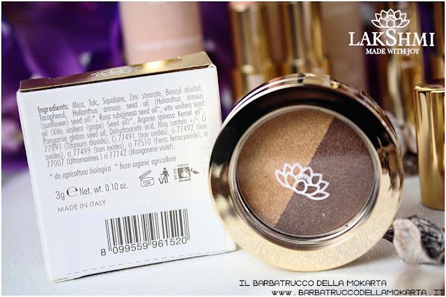 gold sand n 52 eyeshadow ombretti inci lakshmi makeup vegan ecobio