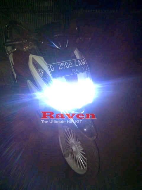 Lampu HID Motor RAVEN Terbaik