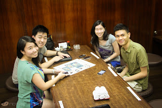 Troy Palanca, Pamela Chua, Keshia Ong and JD Castillo in Nihonbashi Tei