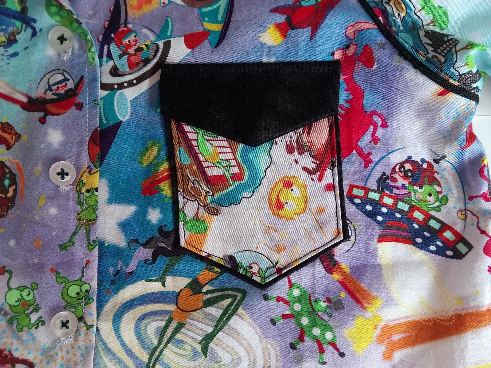 detalle bolsillo camisa
