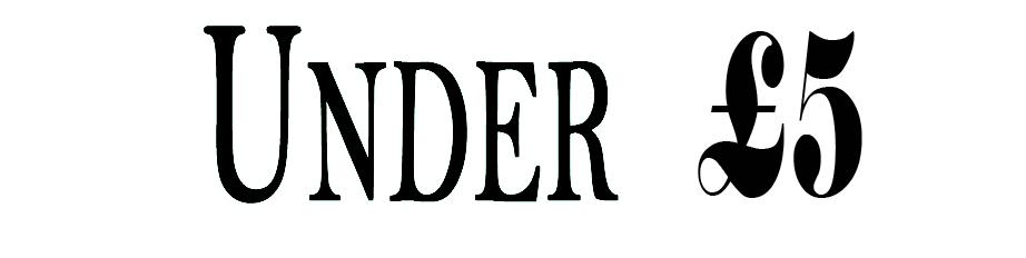 Under 5