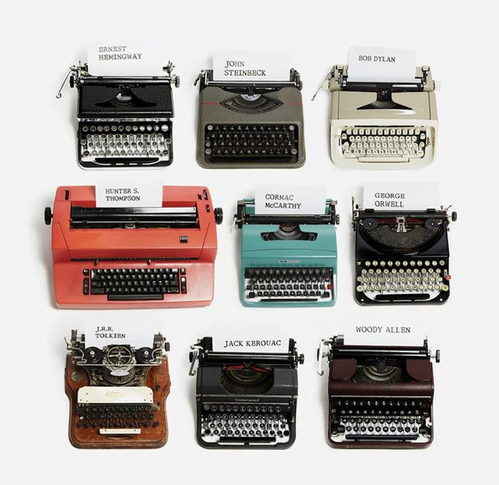 All This Is That Typewriters