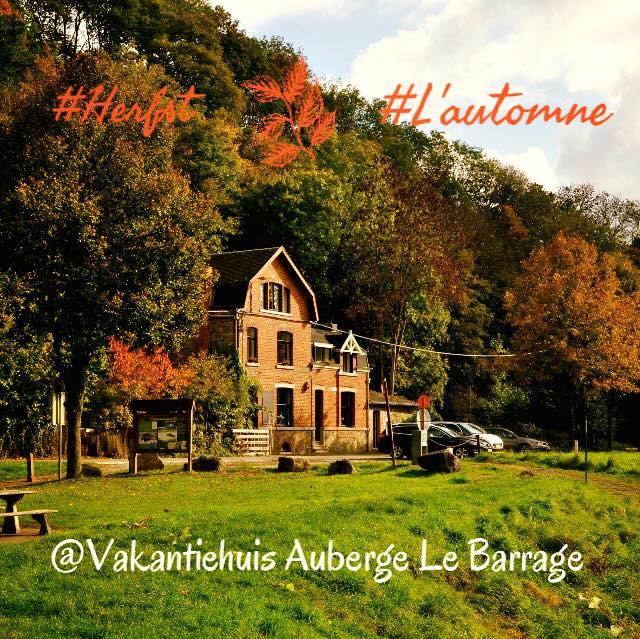 herfst bij vakantiehuis Auberge Le Barrage