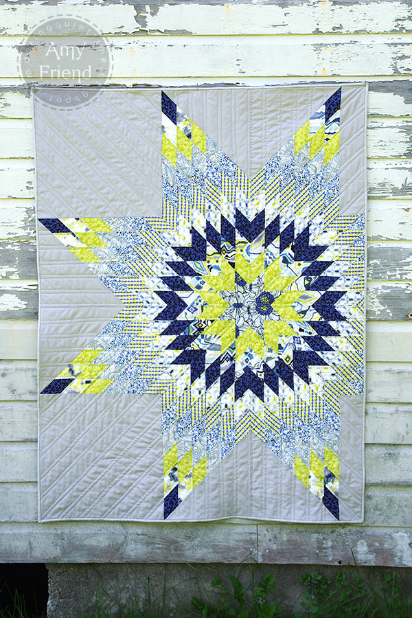 Luxe In Bloom Lone Star Quilt Sizzix Blog The Start Of