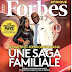 Nigerian Biz Tycoon, Jennifer Obayuwana & His Father Covers Forbes Magazine