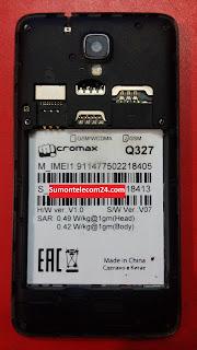 Micromax Q327 images
