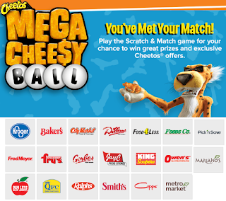 Cheetos Instant Win Giveaway For Kroger & Affiliate Shoppers - 4,400