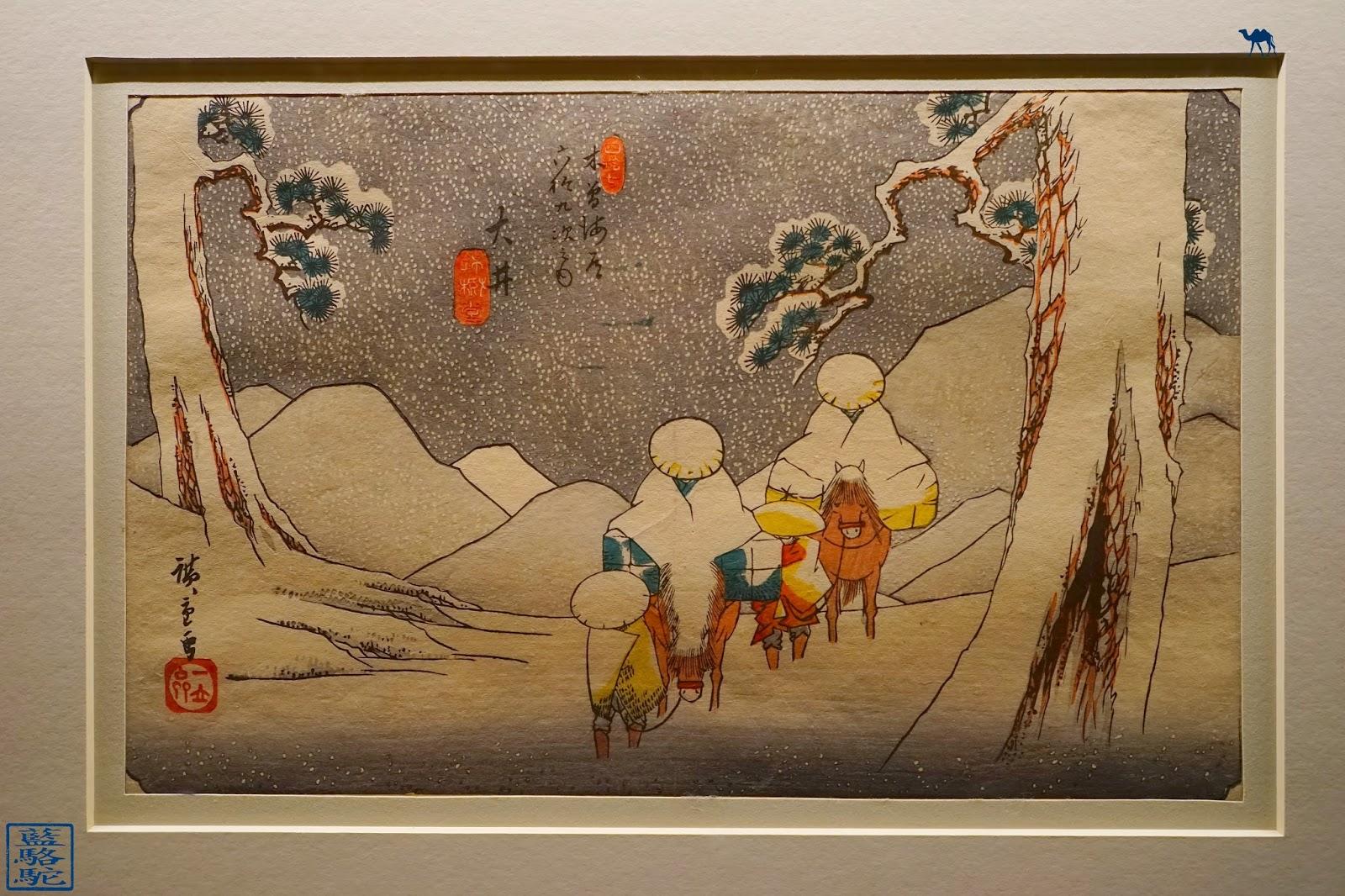 Le Chameau Bleu - Blog Voyage et Cuisine - Estampes japonaises - Mnaag