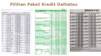 daihatsu padang brosur kredit