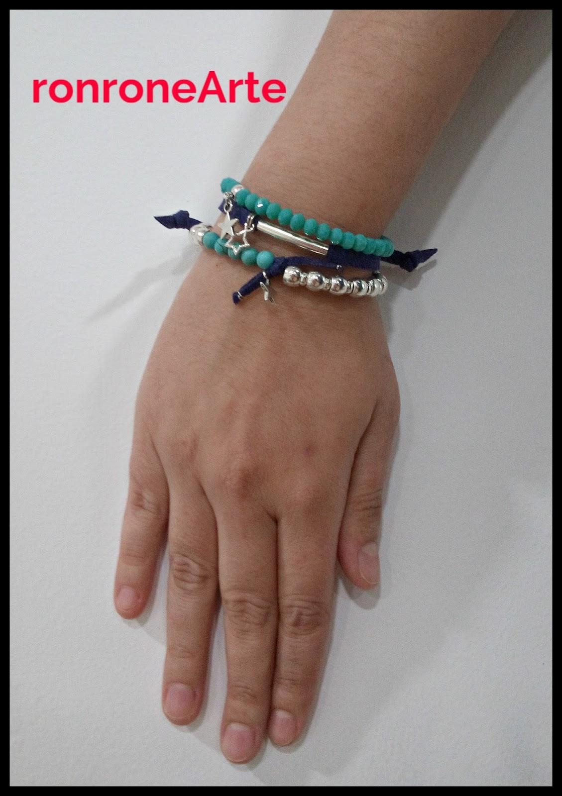 c5d520aebc14 Conjunto de pulsera de trapillo con charms de candado y llave a ...