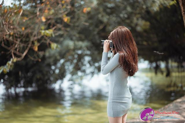 Bộ ảnh gái xinh hàn quốc - Làm video Proshow Producer