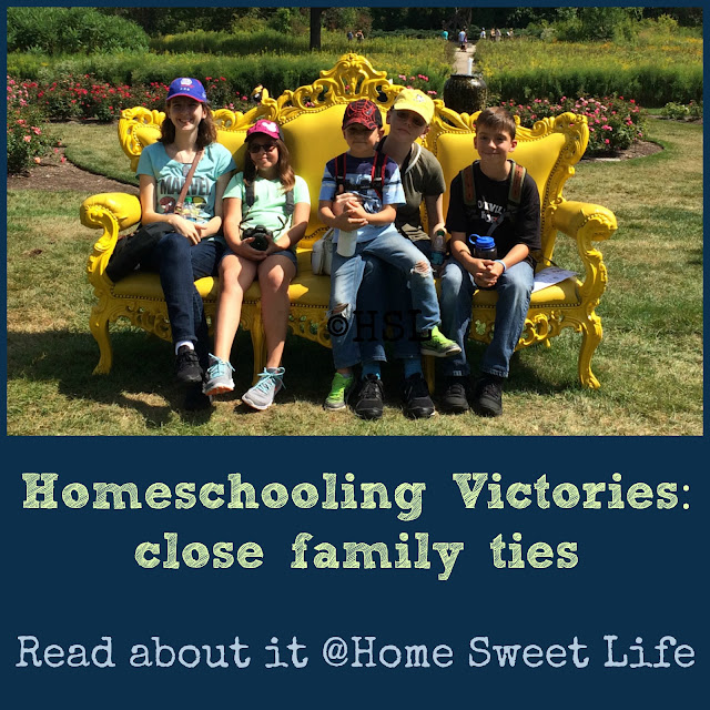 family closeness, cousins, homeschooling, road trips
