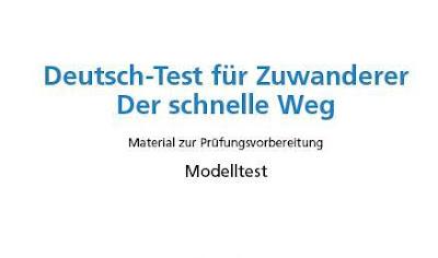 نموذج امتحان DTZ مع الصوتيات والحلول   Deutschtest für Zuwanderer A2-B1