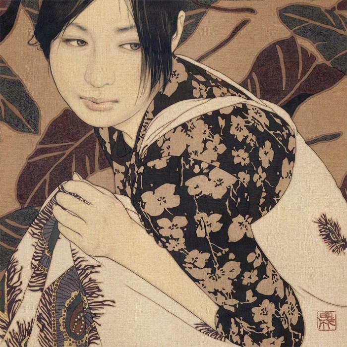 Древняя японская традиция. Ikenaga Yasunari 11