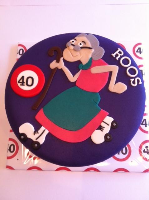 taart voor 40 jaar 40 jaar taart!! | Taarten; Gemaakt door Jonne taart voor 40 jaar