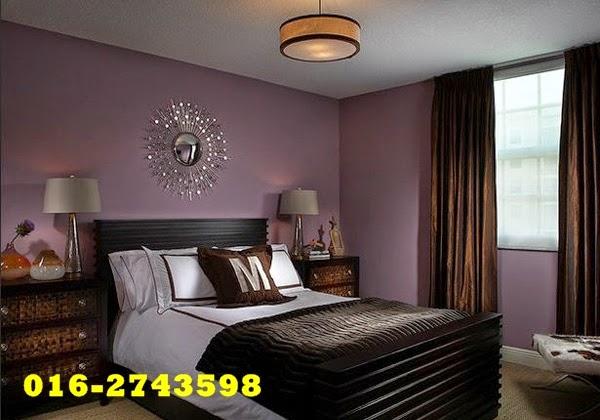 Warna Cat Purple Yang Menarik Untuk Bilik Tidur Anda
