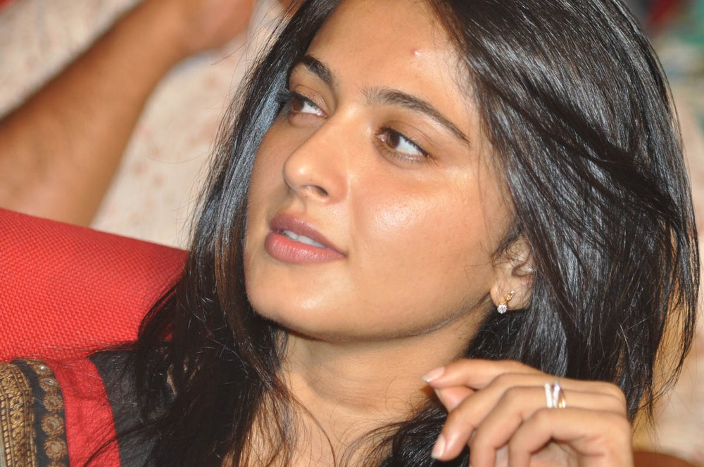 beautiful Anushka stills at greeku veerudu audio launch