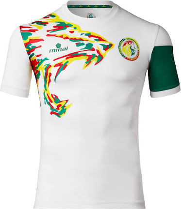 00f6cc987 Senegal 2017 AFCON Home and Away Kits Released - Footy Headlines