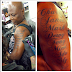 Charly Boy Pierces His Balls, Then Tattoos His Children's Name On His Arm