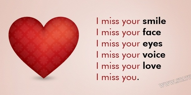 Best New Miss You Status In Hindi And English Quotes Status Top