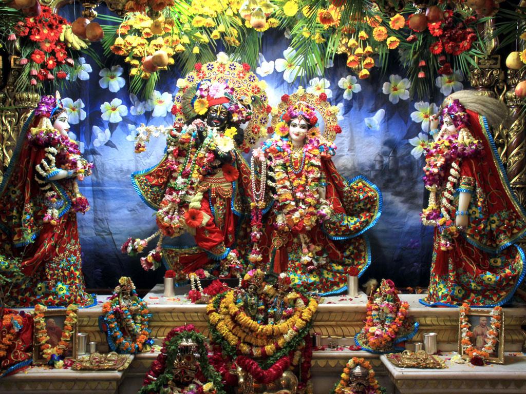 FREE God Wallpaper: Radha Krishna ISKCON Wallpapers