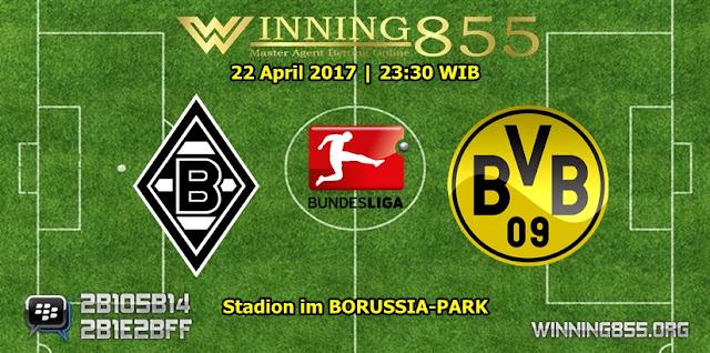 Prediksi Skor Borussia M'gladbach vs Borussia Dortmund 22 April 2017