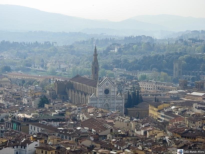 Vista de Florença - Diário de bordo: 2 dias em Florença