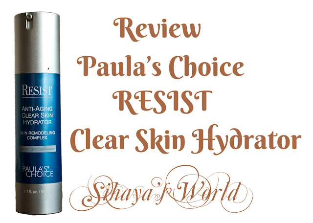 paula's choice clear skin hydrator