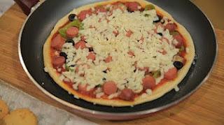 طريقة عمل بيتزا في الطاسة مع غادة التلي في زعفران و فانيلا