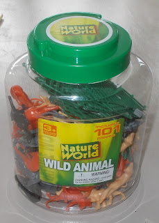 1 Lewis Sales & Marketing Nature World Wild Animal Tub Jar Plastic Zoo Creatures DSCN8366 2941249; 3 Orchid Close; 84495 11210 3; Animals; Big Cat; Black Panther; Camel; Crocodile; Deer; Dromedery; Elephant; Fox; Giraffe; Includes 101 Pieces; Joey; Kangaroo; Lion; M11210; Made in China; Plastic Animals; Plastic Figurines; Polyethylene Toy Figures; Rhino; Small Scale World; smallscaleworld.blogspot.com; SN25 3ST; Swindon; UK; Wallaby; Wild Animal Models; Wild Animals; Wild Life; Wildlife; Wiltdhire; Wolf; Zebra;