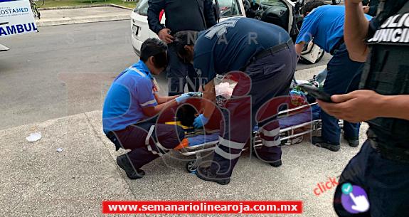 Intentan ejecutar a un automovilista en la colonia Misión de las Flores de Playa del Carmen