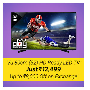 LED TV from Vu 32 HD ready at Rs. 12499