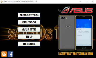 ASUS FRP TOOL ANDROID SOLUTIONS V2.1.2  Tool