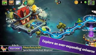 Plants vs Zombies 2 v5.0.1 Mod APK Terbaru