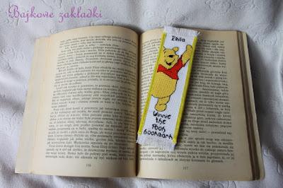 Zakładka z Kubusiem Puchatkiem – Winnie the Pooh bookmark